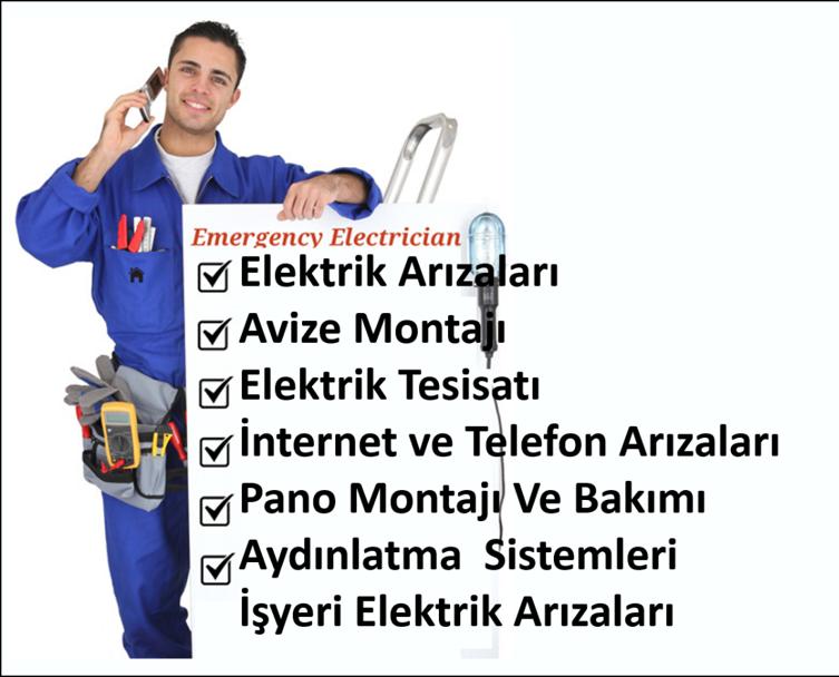 Tuzla Elektrikçi Arıza Servisi